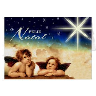 Feliz Natal. Fine Art Portuguese Christmas Cards