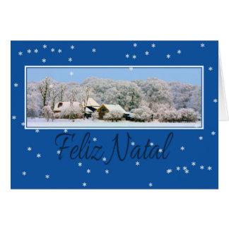 Feliz Natal, Portuguese Christmas card