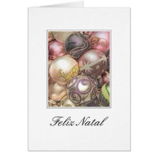 Feliz Natal - Portuguese Christmas Card