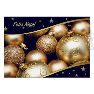 Feliz Natal Portuguese Christmas Cards