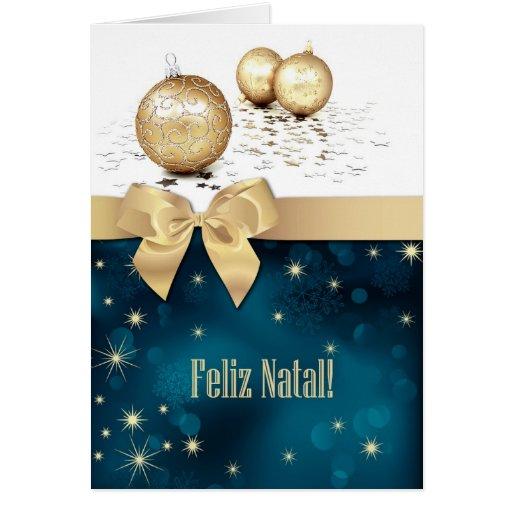 Feliz Natal. Portuguese Christmas Cards