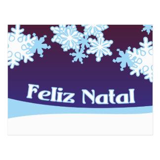 Feliz Natal Postcards