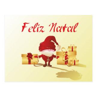 Feliz Natal Postcard