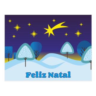 Feliz Natal Post Card