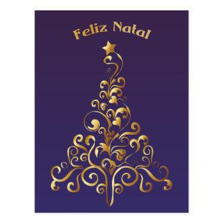 Feliz Natal Post Cards