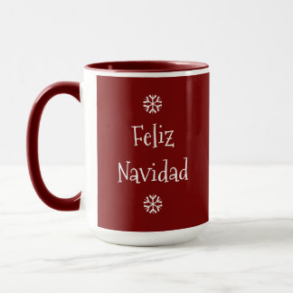 Feliz Navidad Customizable Coffee Mug