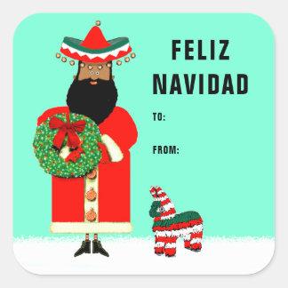 feliz Navidad gift tags