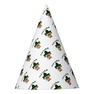 Feliz Navidad Monkey Party Hat