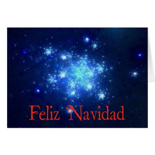 Feliz Navidad - Night Sky Card