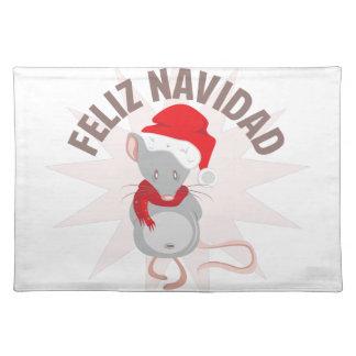Feliz Navidad Placemat