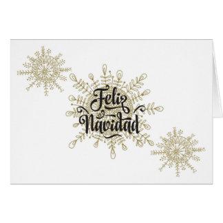 Feliz Navidad Spanish Christmas Card