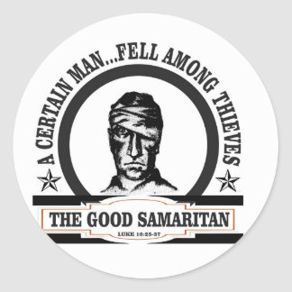fell among thieves gs classic round sticker