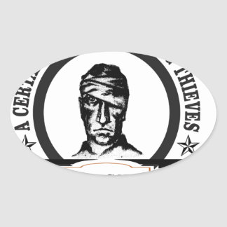 fell among thieves gs oval sticker