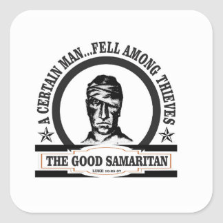 fell among thieves gs square sticker