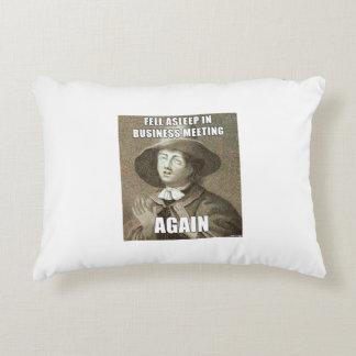 Fell Asleep in Business Meeting Pillow Accent Pillow