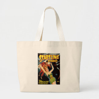 Fell Out of a Spaceship Large Tote Bag