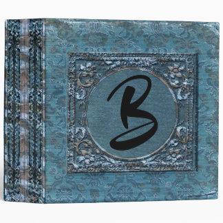 Fellowsbey Marie Vintage Chic Monogram Binder