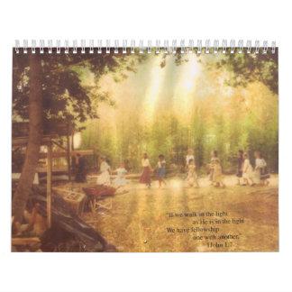 Fellowship Calender Calendar