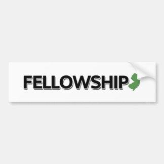 Fellowship, New Jersey Bumper Sticker
