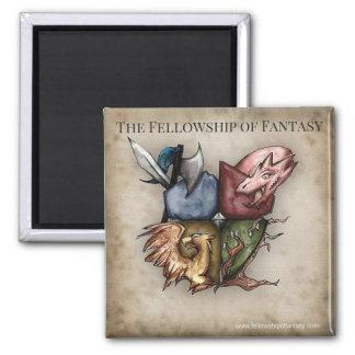 Fellowship of Fantasy Logo Magnet