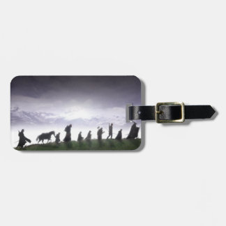 Fellowship of the Ring Trail Luggage Tag