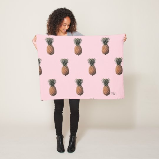 Felt Fleece Blanket