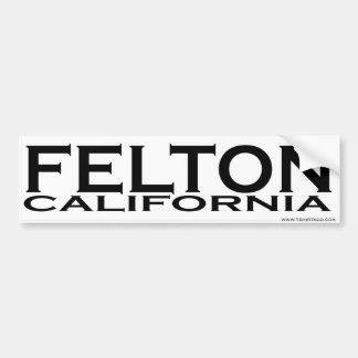 Felton, CA Bumper Sticker