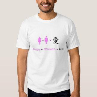 Fem+Fem=Love T Shirt