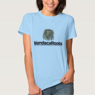 Fem shirt. Line 2012 MandacaRoots. Band T-shirt