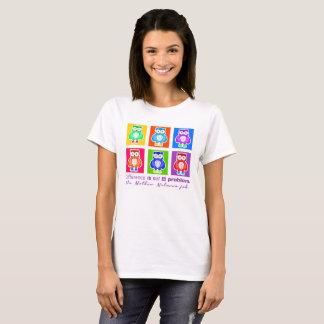 Fem t-shirt Owls