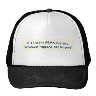 FEMA Saying Hat Version Two