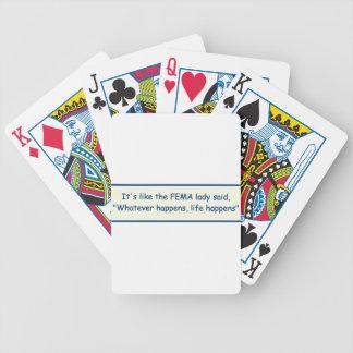 Fema Saying Poker Deck