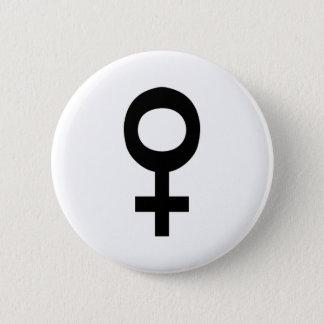 Female 2 Inch Round Button