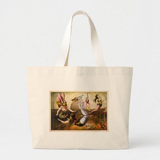Female Acrobats 1890 Jumbo Tote Bag