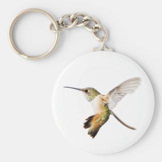 Female Allen's Hummingbird Keychain