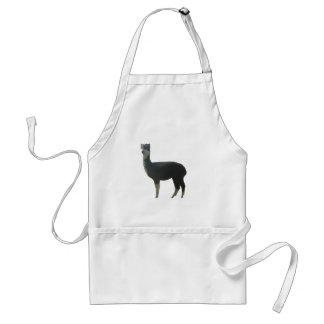 Female alpaca standard apron