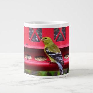 Female American Goldfinch Large Coffee Mug