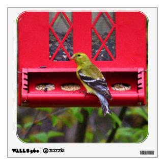 Female American Goldfinch Wall Sticker