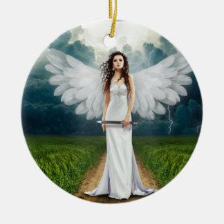Female Avenging Angel Ornament