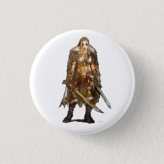 Female Barbarian Button