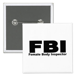 Female Body Inspector Pin