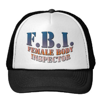 Female_Body_Inspector copy Trucker Hat