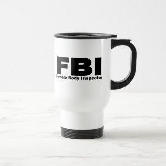 Female Body Inspector Coffee Mugs