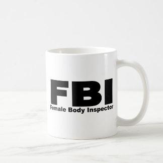 Female Body Inspector Mugs