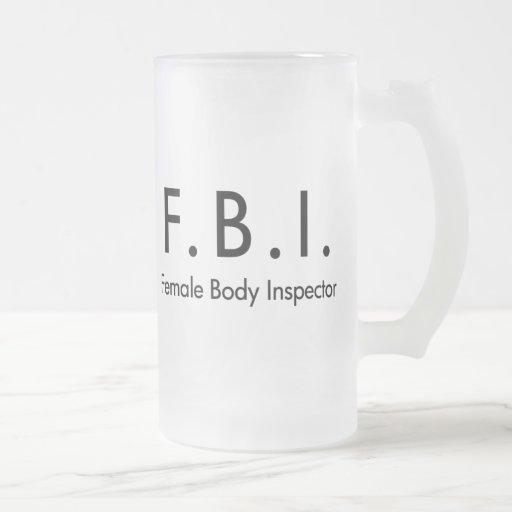 Female Body Inspector Mug
