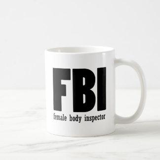 Female Body inspector Coffee Mug