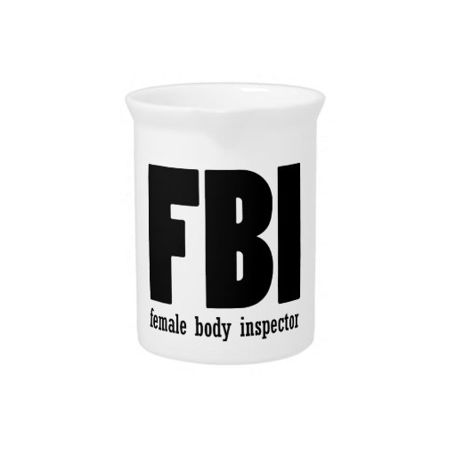 Female Body inspector Pitchers