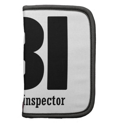 Female Body inspector Folio Planners