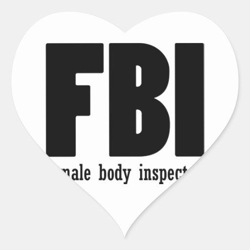Female Body inspector Sticker