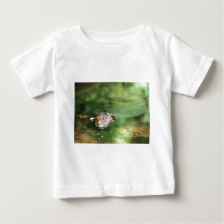 Female Bullfrog Laying Eggs Baby T-Shirt